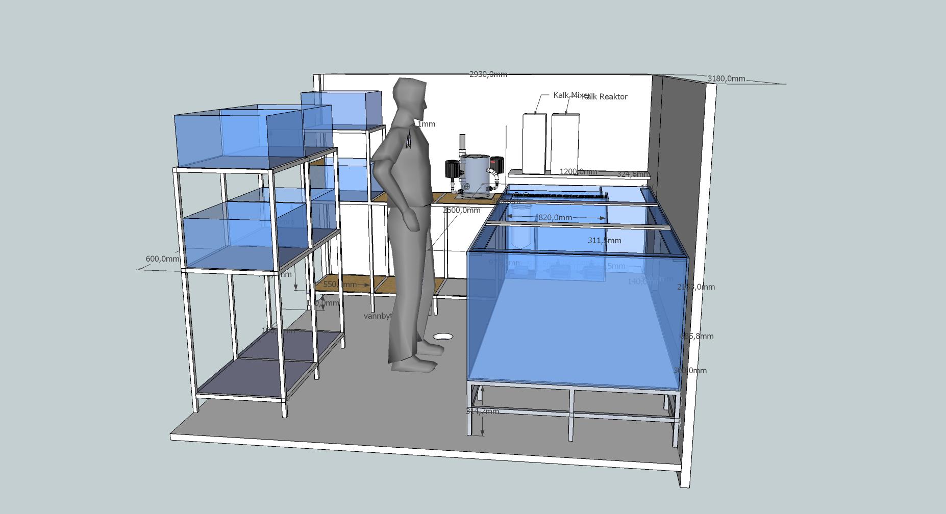 3D tegning, prosjekt.